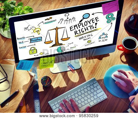 Employee Rights Employment Equality Job Office Technology Concept