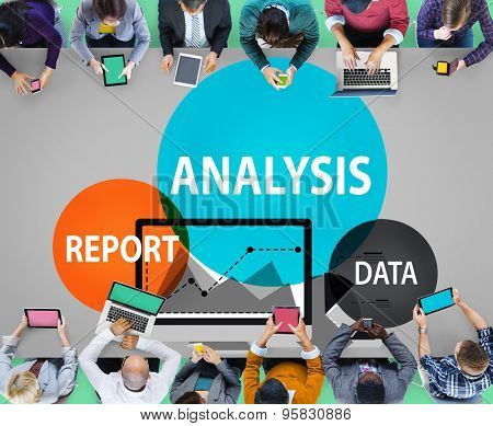 Business Management Analysis Report Data Collection Critical Thinking Concept