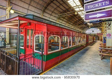 Historic train Strahan
