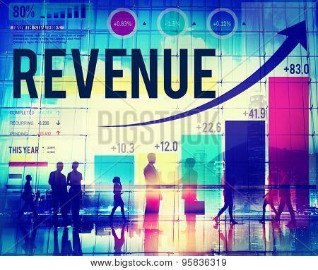 Revenue Profit Income Finance Money Concept