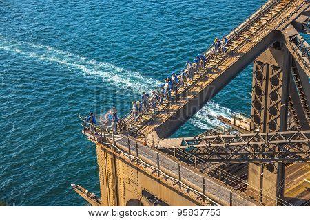 Harbour Bridge Climbing