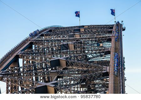 Sydney Harbour Bridge Climbing