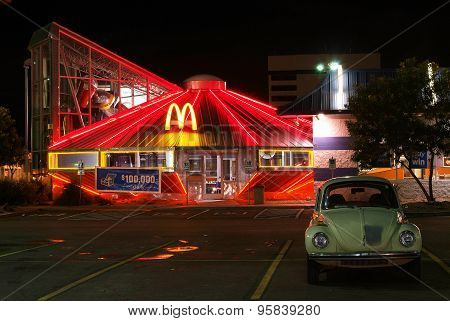 McDonald's Restaurant in Roswell