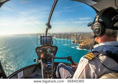 Twelve Apostles Helicopter