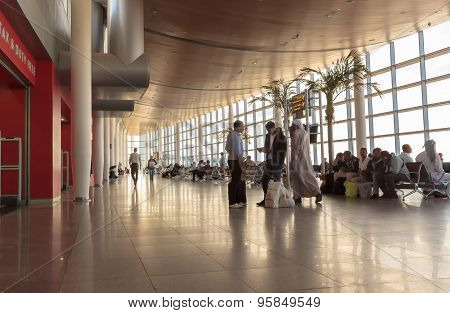 Alexandria, Egypt - October 20, 2014 Borg El Arab Airport