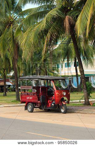 Sihanoukville, Cambodia - November 17, 2014