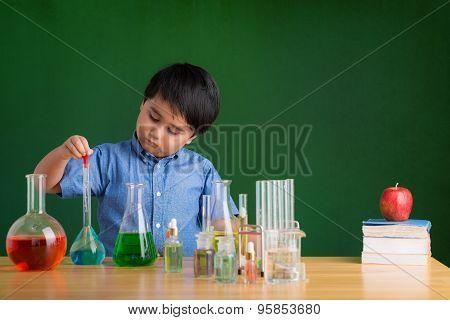 Adding reagent