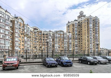 Buildings in Kiev, Ukraine