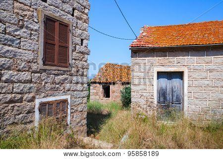 Figari, South Corsica, Rural Architecture Example