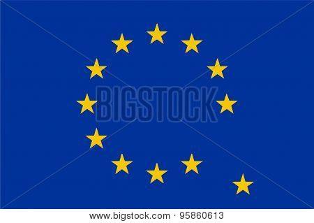 European Union Flag Without A Country