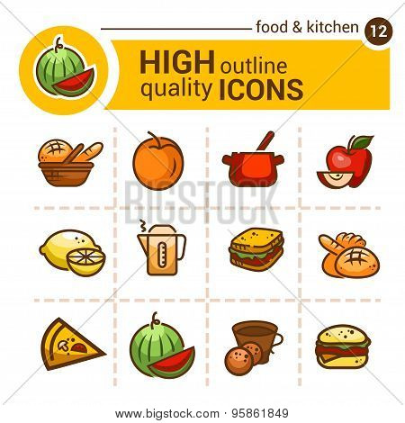 color food icons