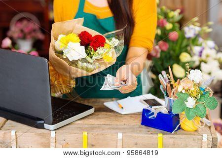 Cash For The Bouquet