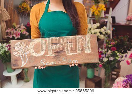 Flower Shop Is Open