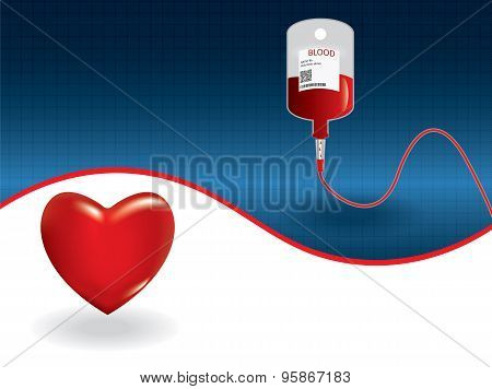 Background of concept of blood donation