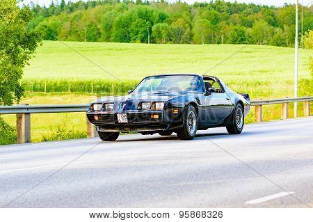 Pontiac Firebird Black 1971