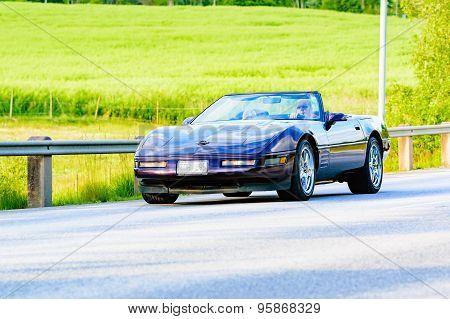 Chevrolet Corvette Purple 1990