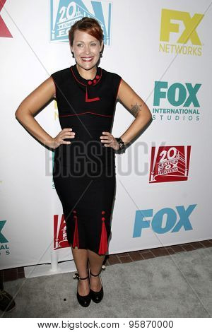 SAN DIEGO - JUL 10:  Amber Nash at the 20th Century Fox Party Comic-Con Party at the Andaz Hotel on July 10, 2015 in San Diego, CA