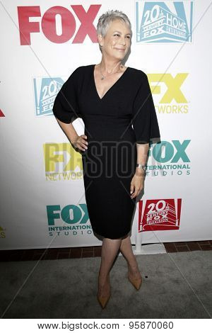 SAN DIEGO - JUL 10:  Jamie Lee Curtis at the 20th Century Fox Party Comic-Con Party at the Andaz Hotel on July 10, 2015 in San Diego, CA