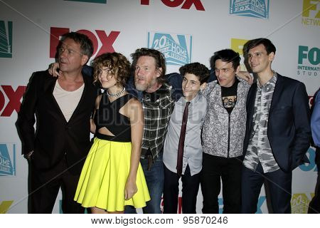 SAN DIEGO - JUL 10:  Gotham Cast at the 20th Century Fox Party Comic-Con Party at the Andaz Hotel on July 10, 2015 in San Diego, CA