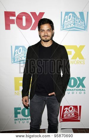 SAN DIEGO - JUL 10:  Nicholas Gonzalez at the 20th Century Fox Party Comic-Con Party at the Andaz Hotel on July 10, 2015 in San Diego, CA
