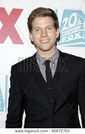 SAN DIEGO - JUL 10:  Stark Sands at the 20th Century Fox Party Comic-Con Party at the Andaz Hotel on July 10, 2015 in San Diego, CA