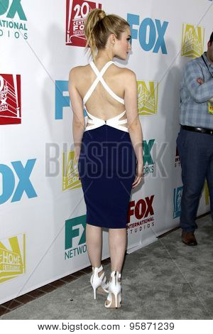 SAN DIEGO - JUL 10:  Skyler Samuels at the 20th Century Fox Party Comic-Con Party at the Andaz Hotel on July 10, 2015 in San Diego, CA