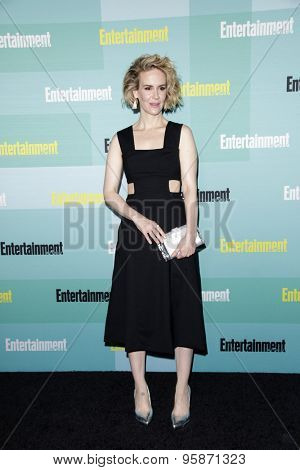 SAN DIEGO - JUL 11:  Sarah Paulson at the Entertainment Weekly's Annual Comic-Con Party at the Hard Rock Hotel on July 11, 2015 in San Diego, CA