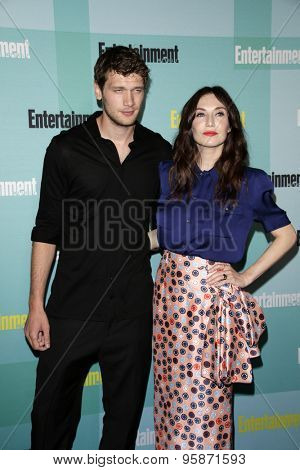 SAN DIEGO - JUL 11:  Kees Van Nieuwkerk, Carice Van Houten at the Entertainment Weekly's Annual Comic-Con Party at the Hard Rock Hotel on July 11, 2015 in San Diego, CA