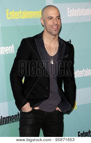 SAN DIEGO - JUL 11:  Chris Daughtry at the Entertainment Weekly's Annual Comic-Con Party at the Hard Rock Hotel on July 11, 2015 in San Diego, CA