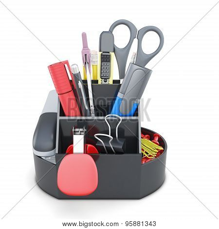 Organizer With Stationery
