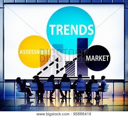 Trends Assessment Market Fashion Contemporary Concept