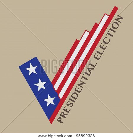 Usa Presidential Election Vector Design