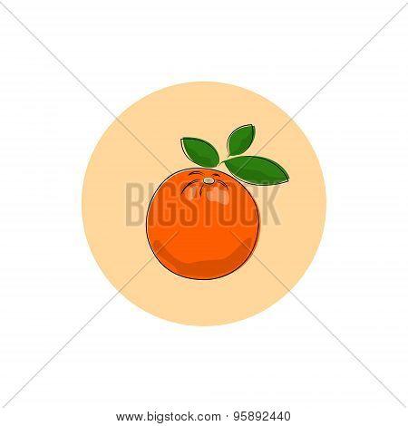 Icon Colorful Orange