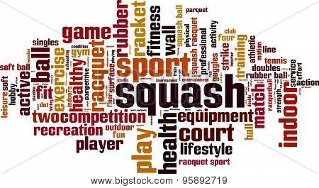 Squash Word Cloud