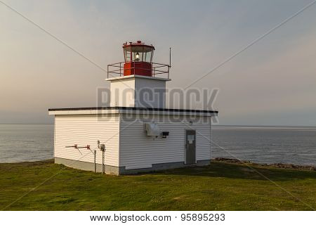 Northern Lighthouse Brier Island Nova Scotia
