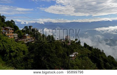 Nagarkot - the village in the Himalayas