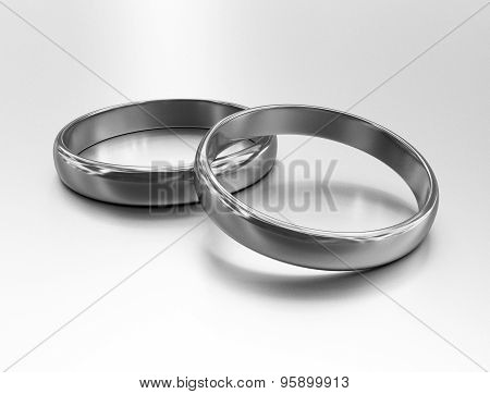 Wedding Silver Rings