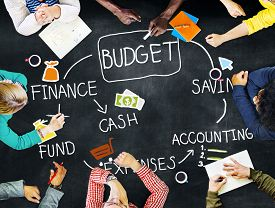image of budget  - Budget Finance Cash Fund Saving Accounting Concept - JPG