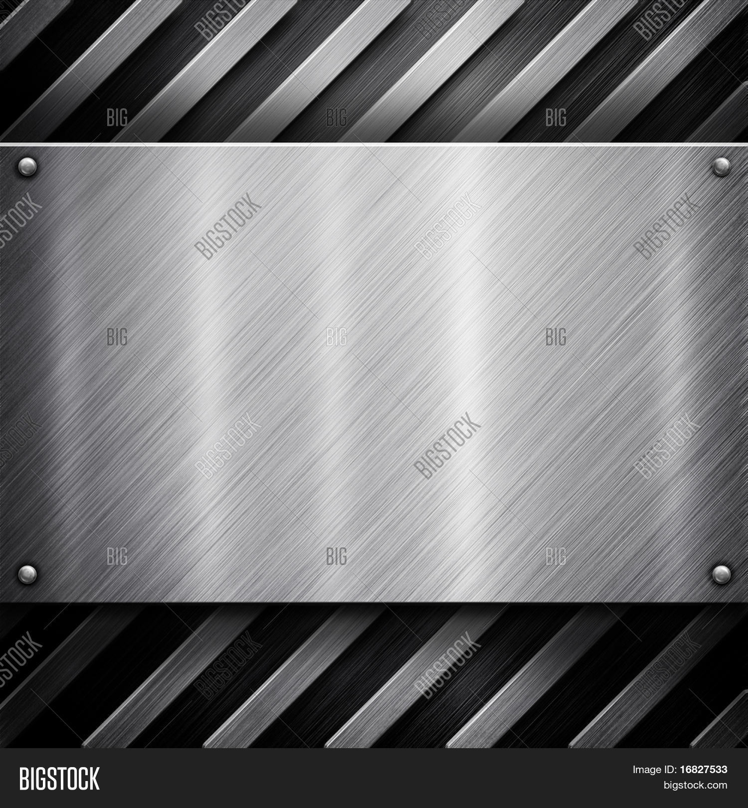 metal template background  silver pack  stock photo