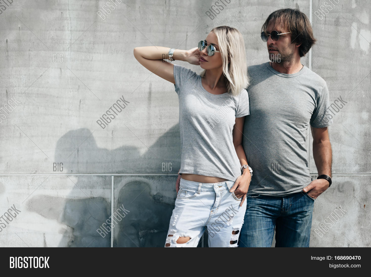two hipster models man woman image amp photo bigstock