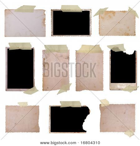Vintage photo frames set 2, big collection
