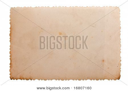 Vintage photo saved with clipping path, big collection