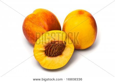 Beautiful juicy nectarines