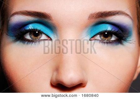 Sensual Woman Eyes