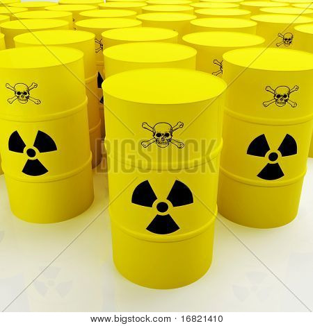 Grupo de tanque radioactivo