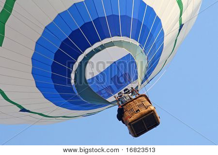 fine image of hot air balloon background
