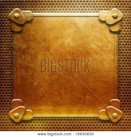 gold metal background(You can find more templates and textures in my portfolio)