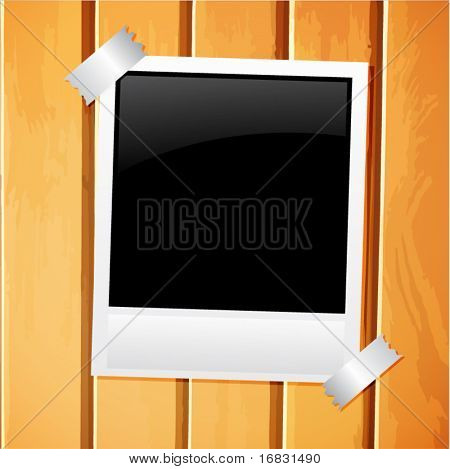 wood photo board