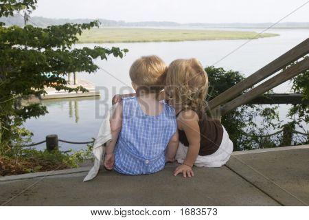 Boy And Girl Hugging