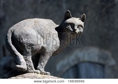 Cats in La Romieu